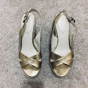 Studio Paolo Gold sandals